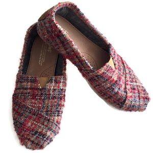 Toms Woven Wool Flats